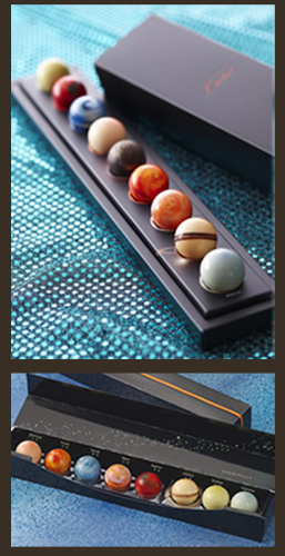 Eight Chocolate Planets for the Discriminating Palate