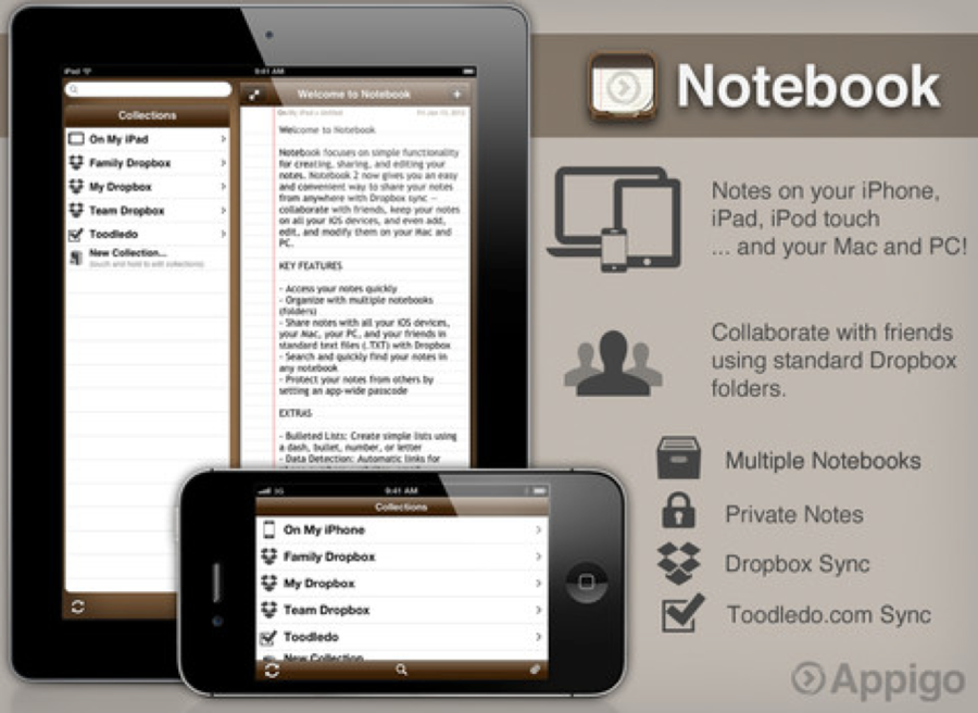 GearDiary The Best iOS Apps for Taking Notes