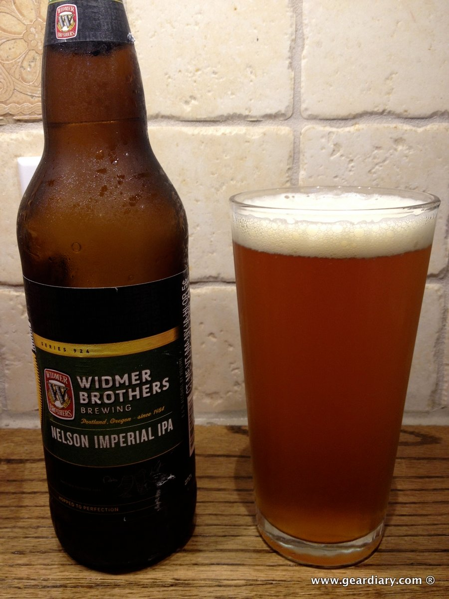 GearDiary Widmer Brothers Nelson Imperial IPA Review