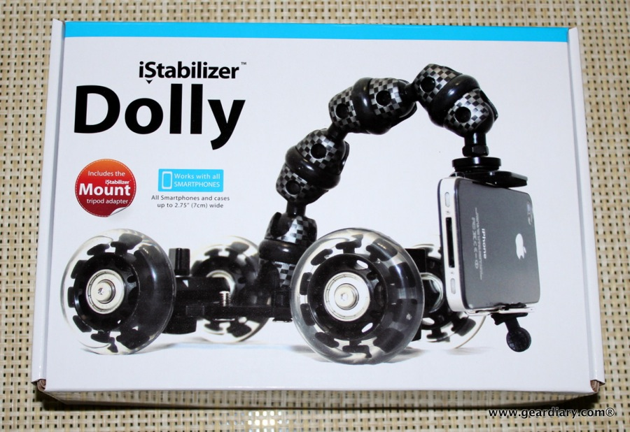 GearDiary iStabilizer Dolly Video Demo and Review