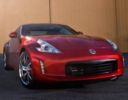 GearDiary 2013 Nissan 370Z Coupe in Steamy, Hot Magma Red