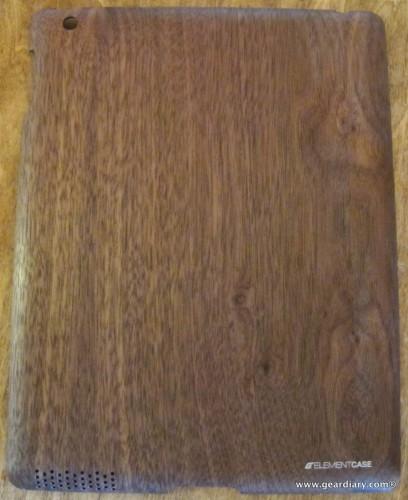 Element Case Walnut Wood iPad Shell Review