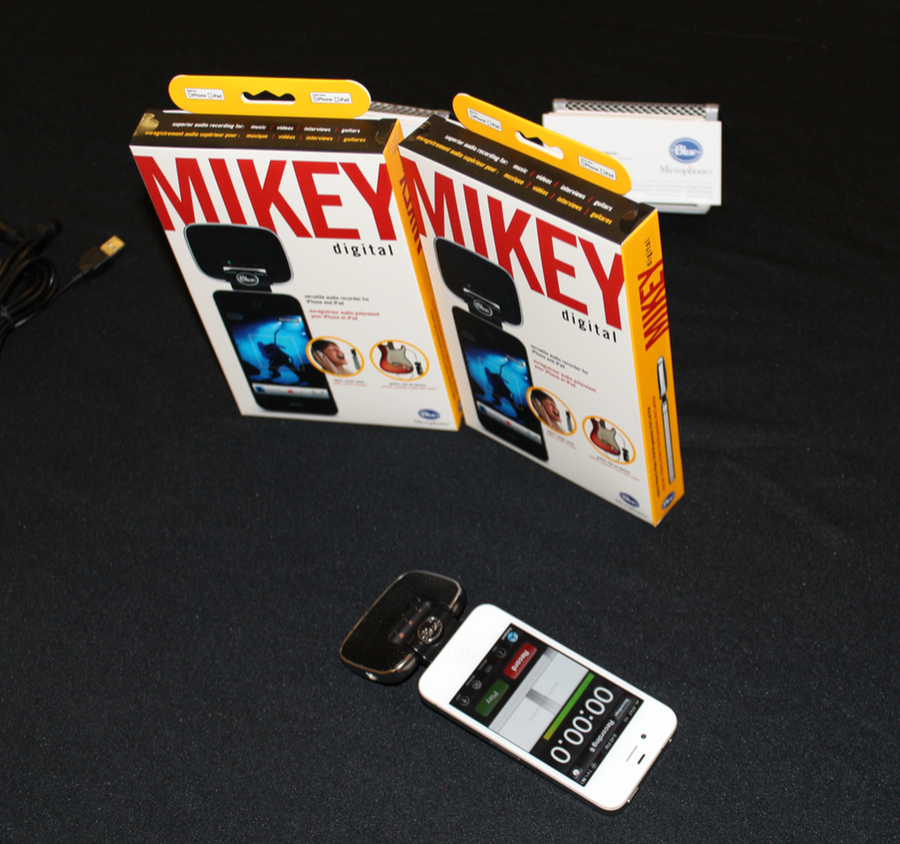 GearDiary Blue Microphone's Mikey Digital Review