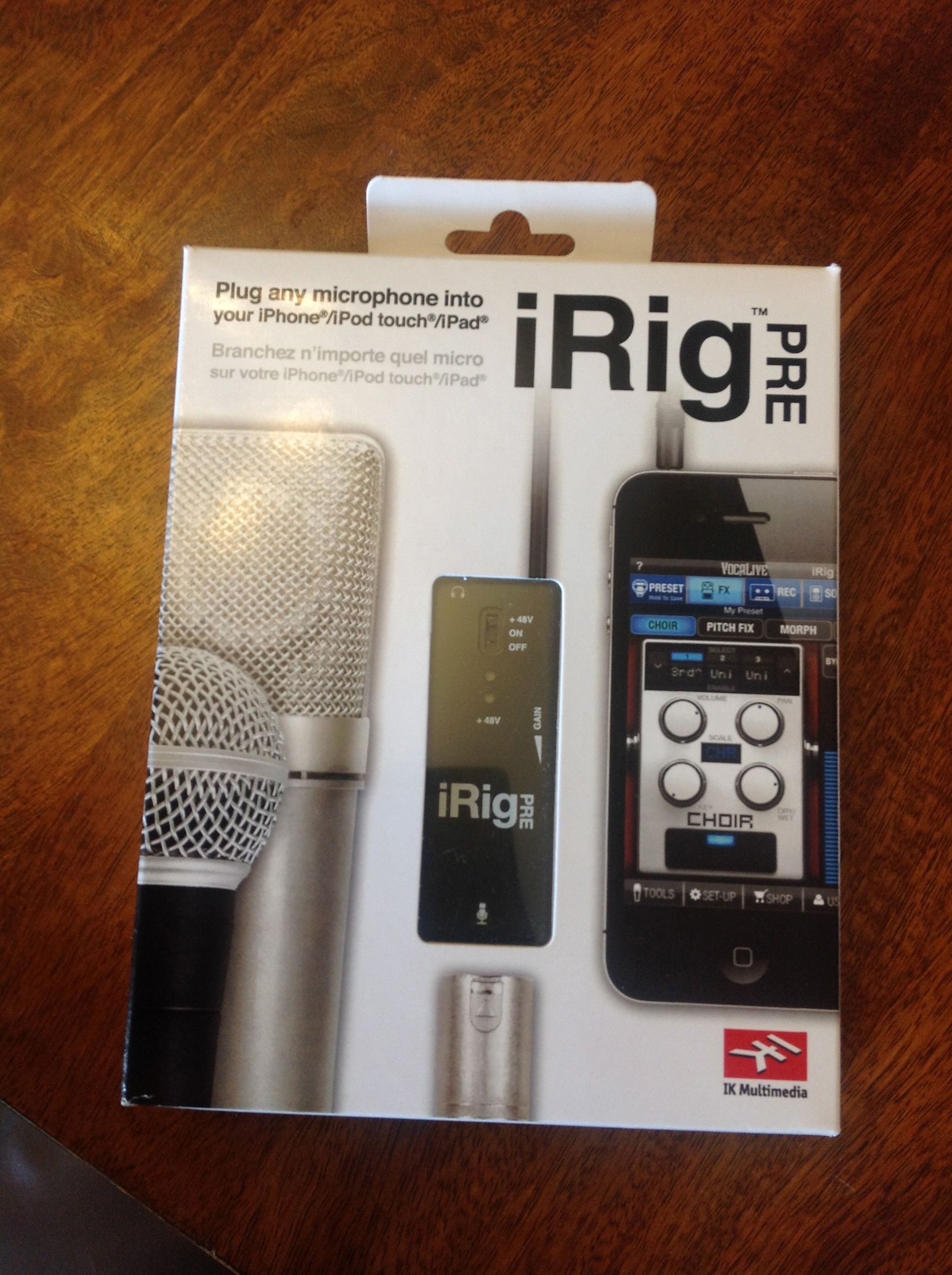 GearDiary The iRig Pre Microphone Preamplifier Review