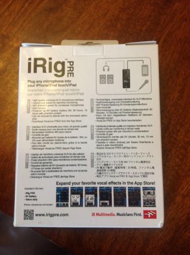 iRig Pre UnBox2
