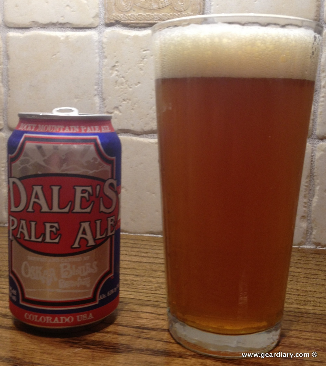 GearDiary Oskar Blues Dale's Pale Ale Taste Test