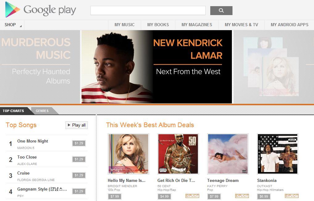 Spotify Music Google