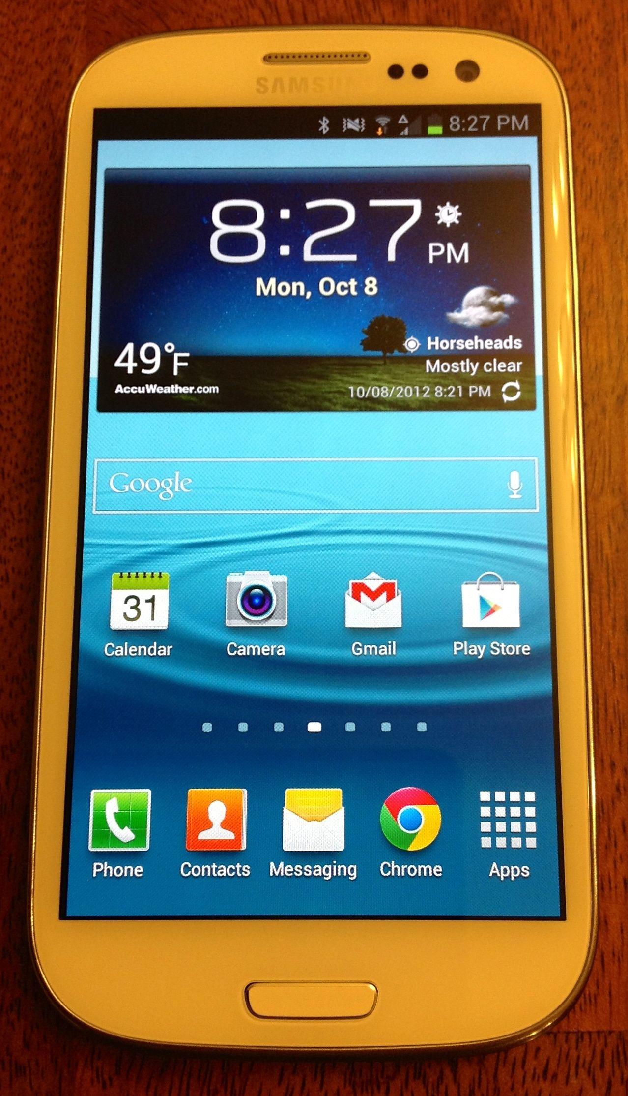 Samsung Galaxy S III 1