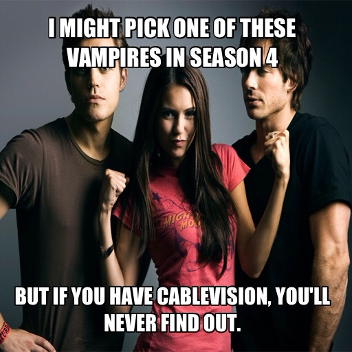 No CW for Cablevision Subscribers!