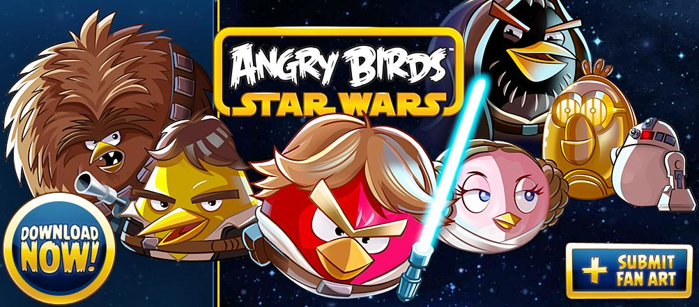 GearDiary Angry Birds Star Wars is EVERYWHERE!!!