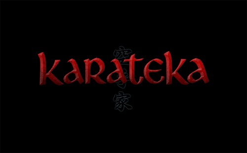 Karateka Logo on Black