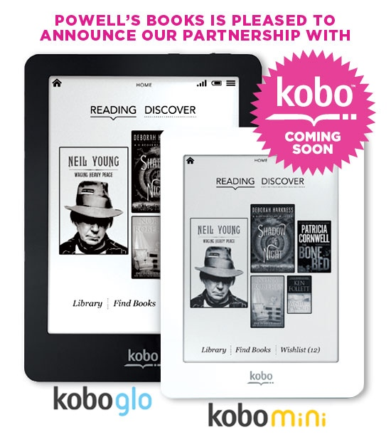GearDiary Powell's and Kobo Team Up