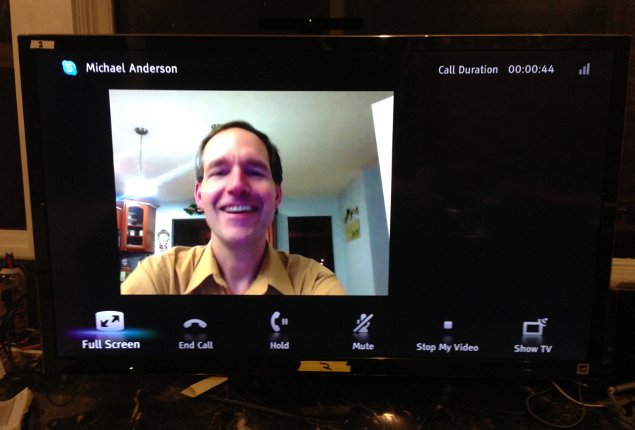 Stay Connected to Family in 2013 with Sony's Camera and Microphone for Skype