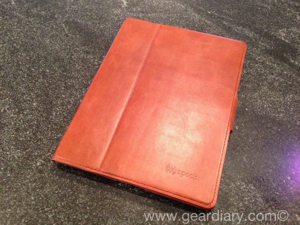 GearDiary Speck WanderFolio Luxe for iPad Review