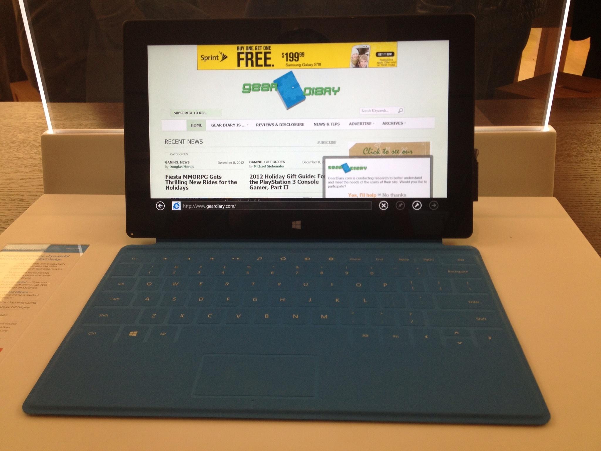 Ultra Portable Tablets Microsoft Surface Microsoft