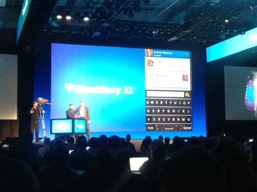 GearDiary RIM Unveils Their Blackberry 10 at the Blackberry Experience in NYC