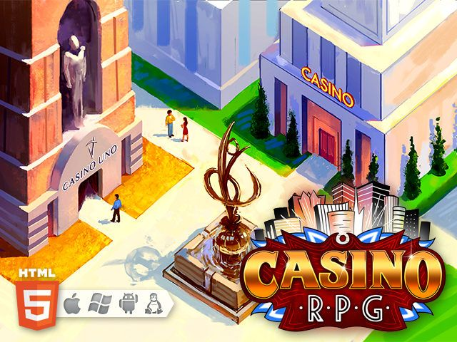 GearDiary CasinoRPG, a Browser-Based Tycoon/MMORPG/Casino Game