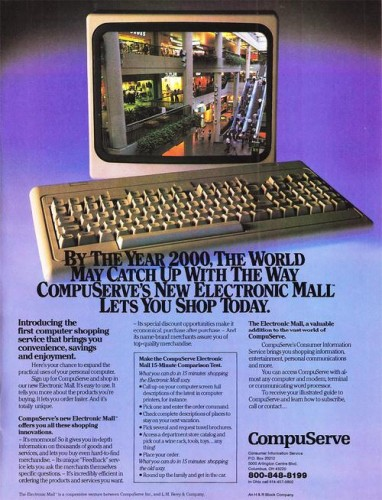 Compuserve Shopping Cart