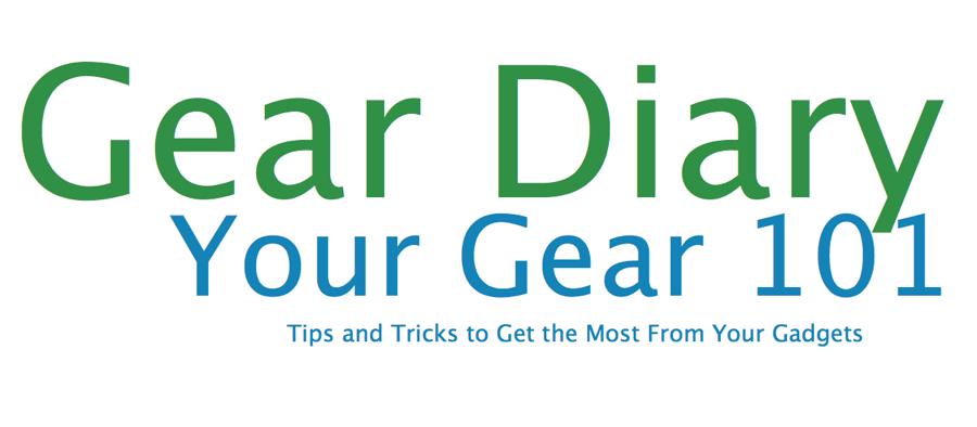 GearDiary Create Shortcuts in iOS, Your Gear 101