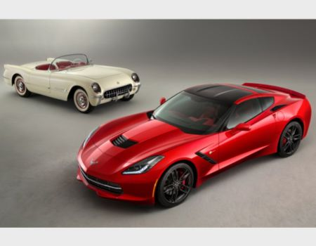 First Chevrolet Corvette Debuted 60 Years Ago Today, First C7 Hits Auction Block Saturday