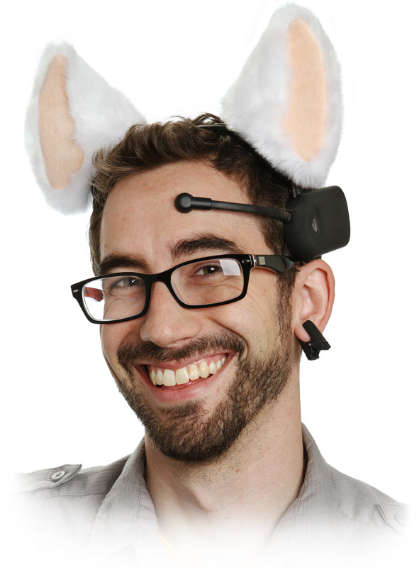 GearDiary Brainwave Controlled Cat Ears and Tail for Those who Really Love Their Pets