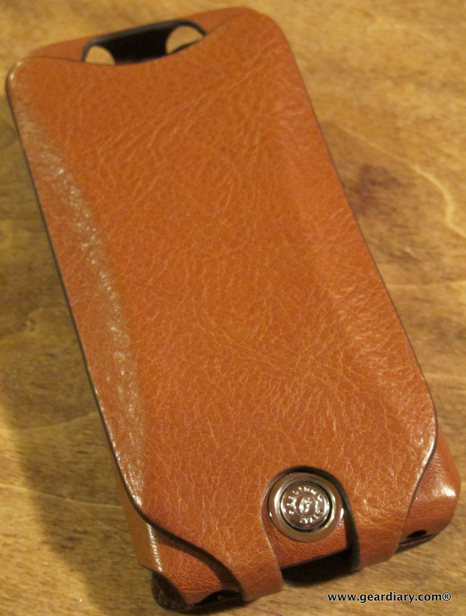 GearDiary Orbino Pantera Cinque iPhone 5 Case Review - Luxurious Leather  for Your Personal Communicator aa99ce75049a