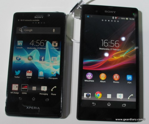 The Sony Xperia Z Android Phone