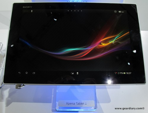 The Sony Xperia Tablet Z