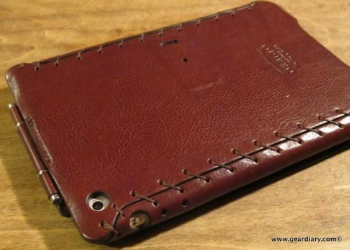 GearDiary Orbino miniPadova Review; a Most Exquisite Leather iPad mini Case