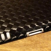 MonCarbone Black Diamond Smartt Mate carbon Fiber iPad Shell