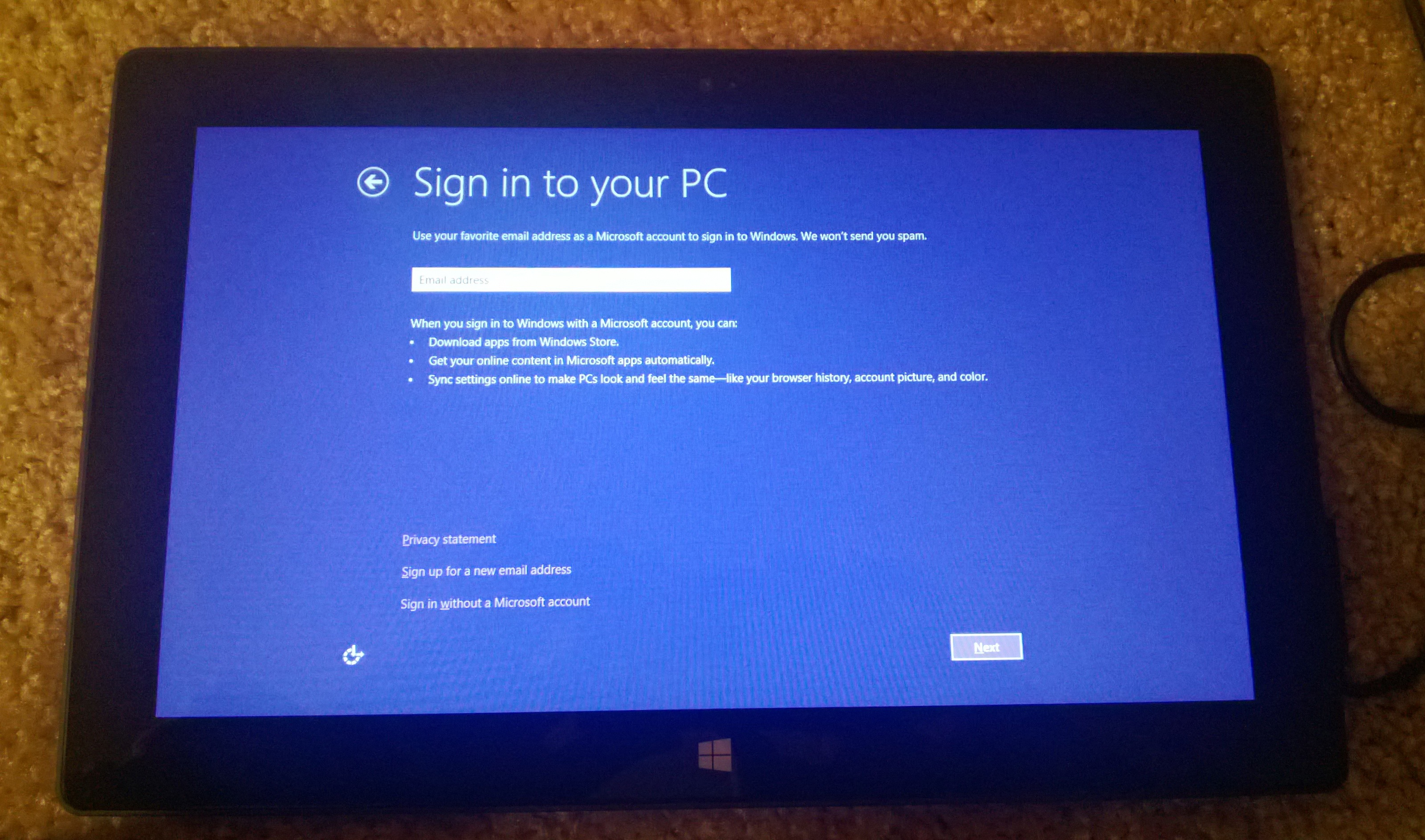 Microsoft Surface and Windows RT: Playing in the Windows 8