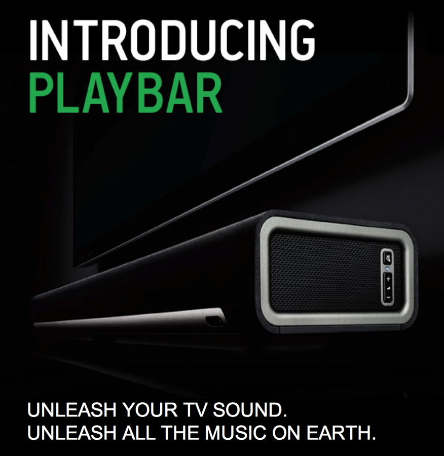 GearDiary The Sonos PLAYBAR Soundbar Brings Big Sound to Your Home Theater