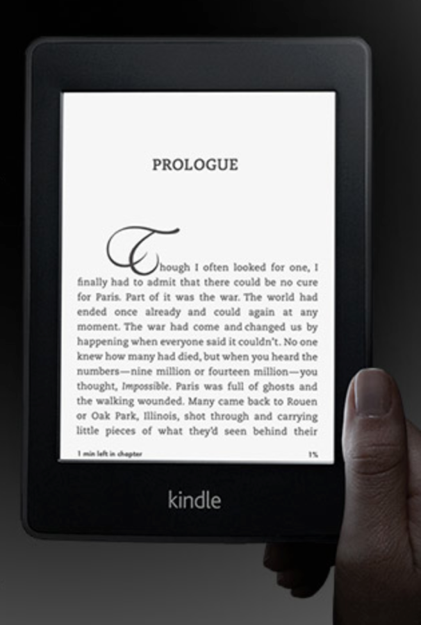 GearDiary Amazon Kindle Paper White Commercial a Sign of the Times