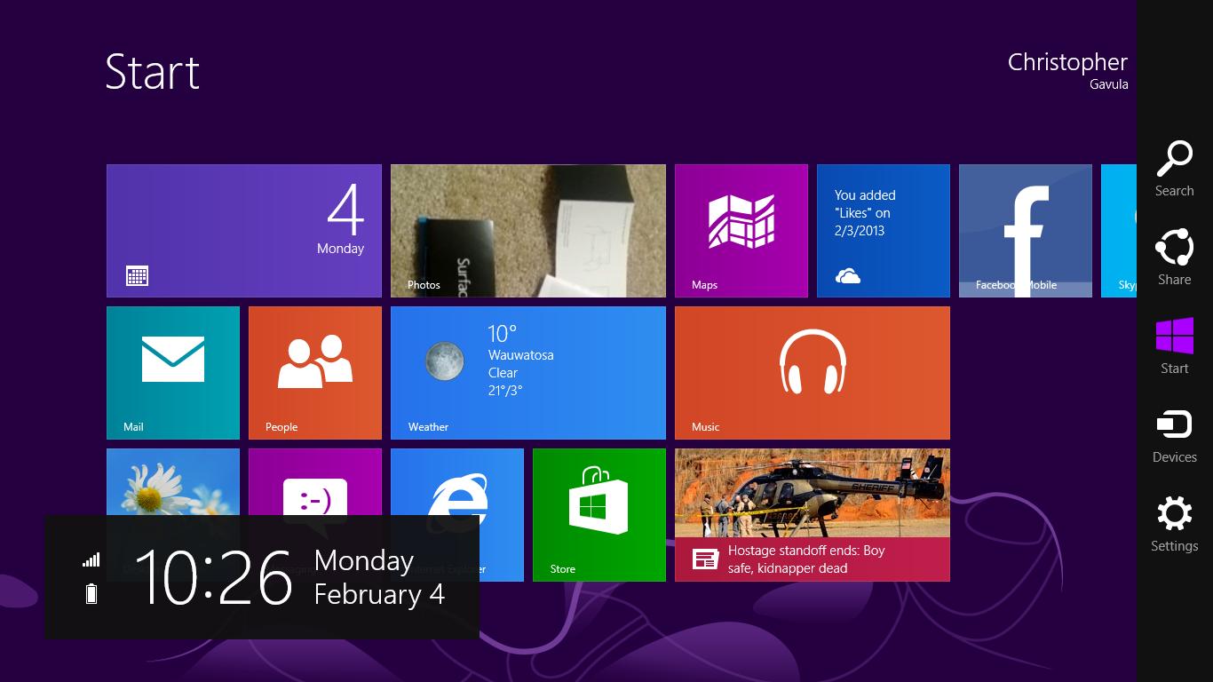 GearDiary Microsoft Surface and Windows RT: Playing in the Windows 8 Sandbox