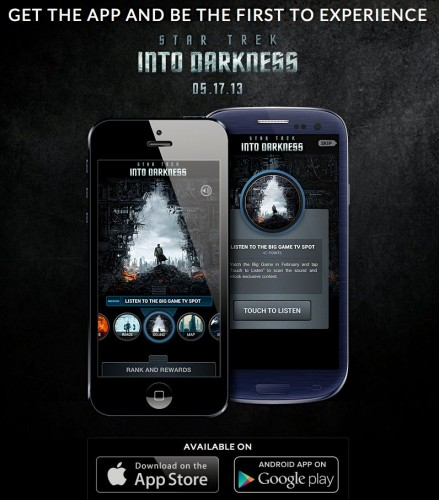 GearDiary Get Ready for the Next Chapter with the Star Trek Into Darkness App for iOS or Android