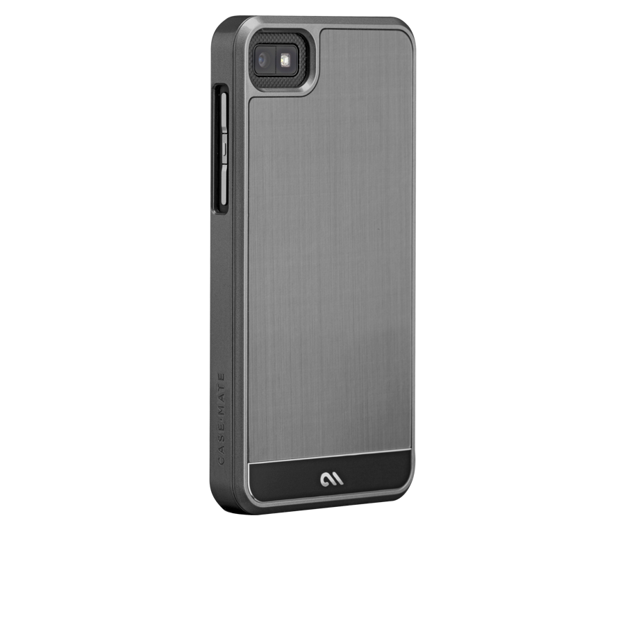 Cmi Brushed aluminum Blackberry 10 stl 100 Gunmetal black CM025194 1