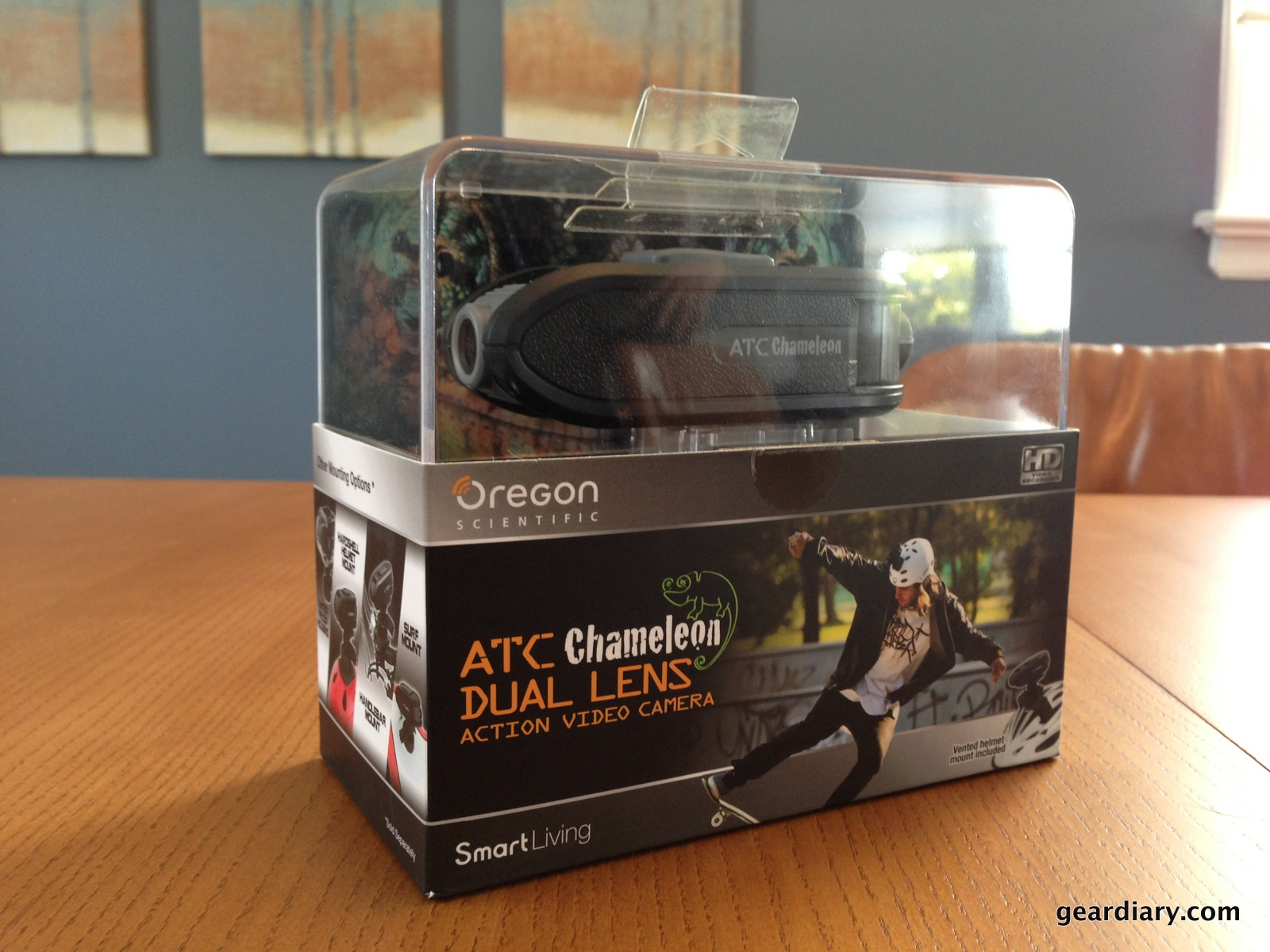 GearDiary Oregon Scientific ATC Chameleon Action Camera Review