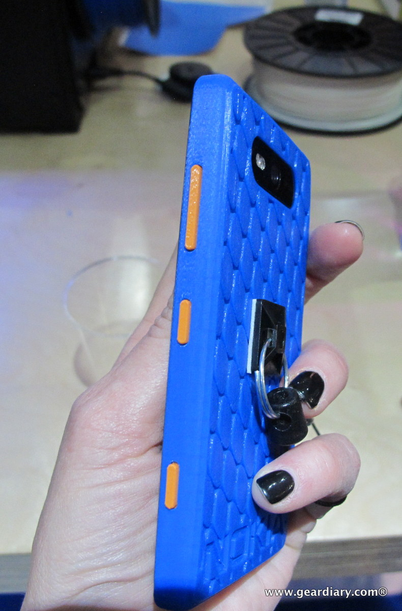 Nokia and MakerBot 3D Printed Lumia 520 Case