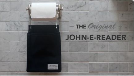 GearDiary John-E-Reader Makes Your Bathroom Safe for Kindles