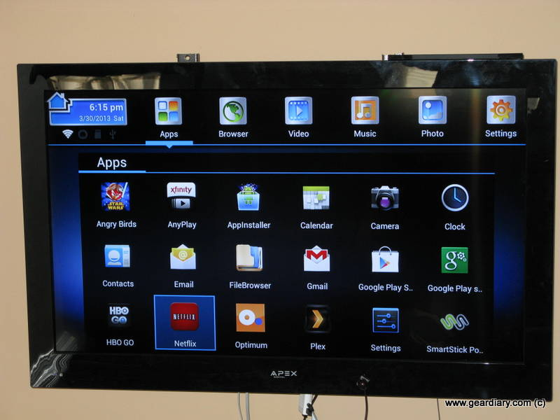 GearDiary SmartStick TV Accessory Review