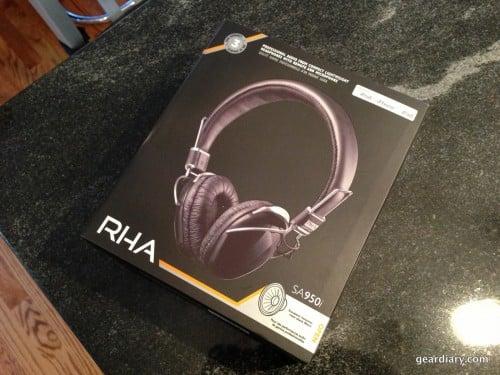 RHA SA950i Headphones Gear Diary