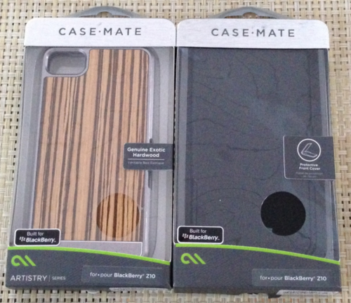 GearDiary Blackberry Z10 Cases from Case-Mate First Look