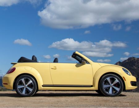 2013 new New Beetle Convertible in the Grinding Gears Garage
