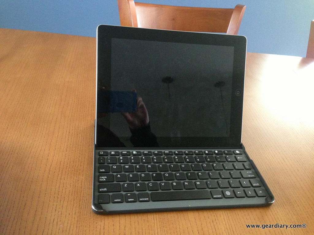 GearDiary Kensington KeyCover Hard Shell iPad Keyboard Review -  the Keyboard that Changed It All