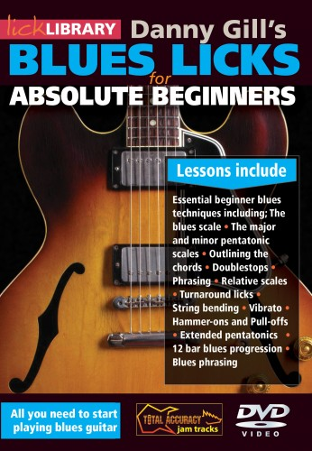Lick Library Launches Two Blues Guitar DVD Courses for Beginners