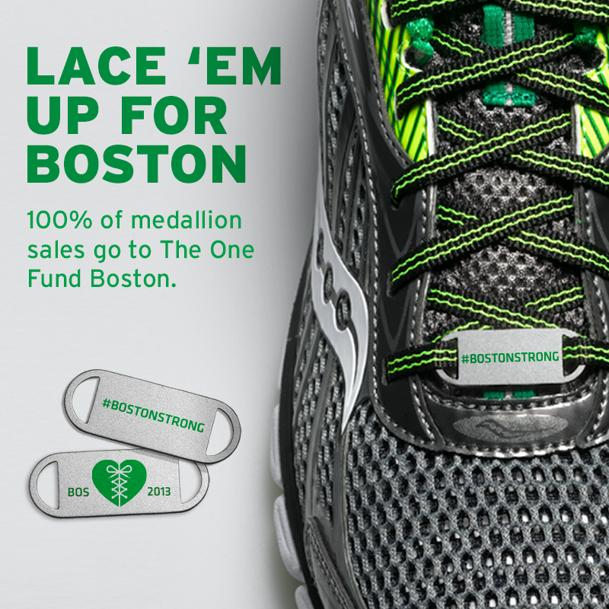 Saucony #BostonStrong Medallion