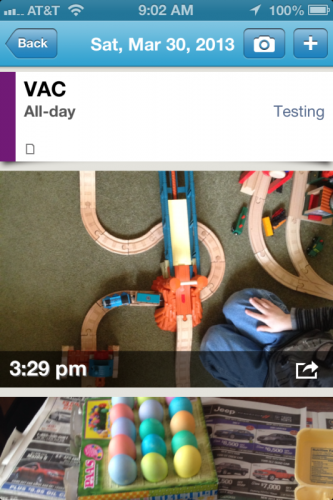 GearDiary PhotoCal with Event for iOS Puts Photos in Timely Context