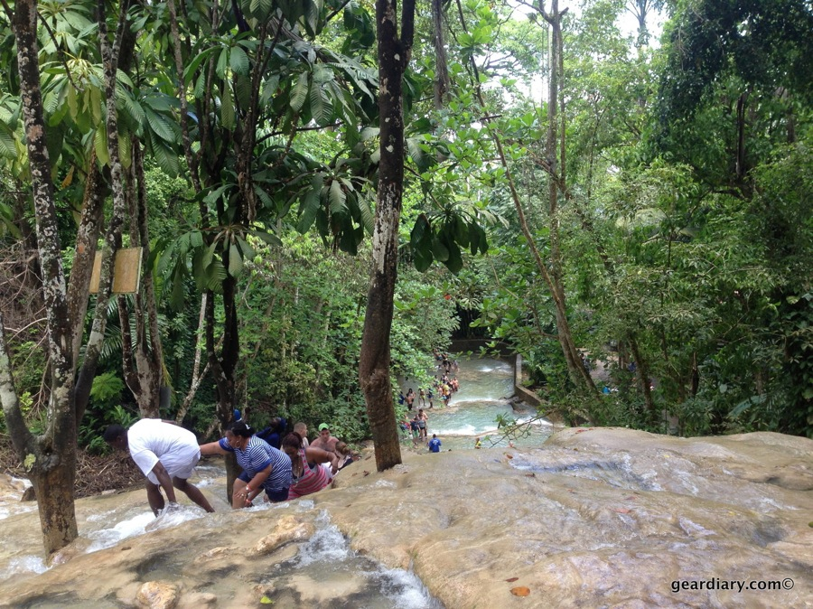 GearDiary Discovering Jamaica's Dunn's River Falls
