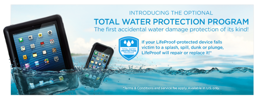 hot sale online 98541 45583 LifeProof Launches Total Water Protection Program for iPhone and iPad