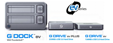 GearDiary G-Technology's New G-DOCK and G-DRIVE Offer Speed, Versatility and Flexibility